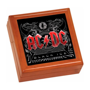 Black Ice Wooden Keepsake Box