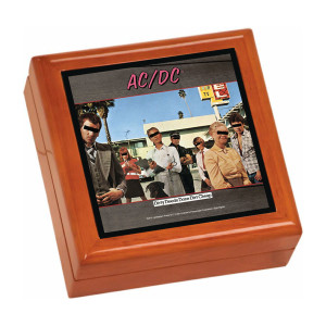 Dirty Deeds Done Dirt Cheap Wooden Keepsake Box
