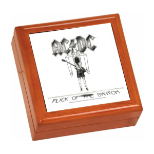 Flick Of The Switch Wooden Keepsake Box