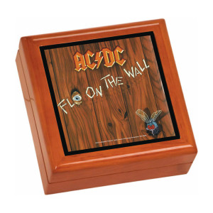 Fly On The Wall Wooden Keepsake Box