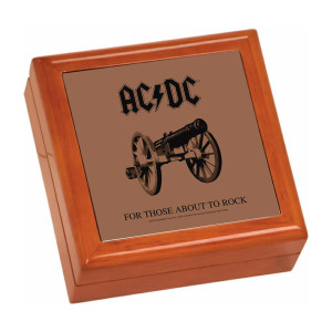 For Those About To Rock Wooden Keepsake Box