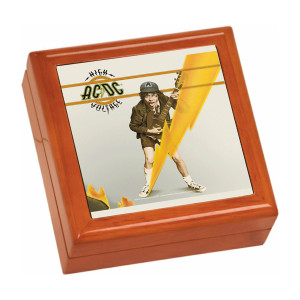 High Voltage Wooden Keepsake Box
