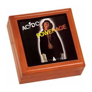 Powerage Wooden Keepsake Box