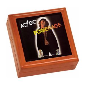 Powerage Wooden Keepsake Box