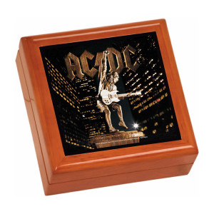 Stiff Upper Lip Wooden Keepsake Box
