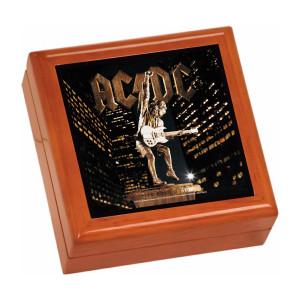 Stiff Upper Lip Wooden Keepsake Box