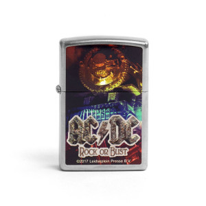 AC/DC Rock or Bust Zippo Lighter