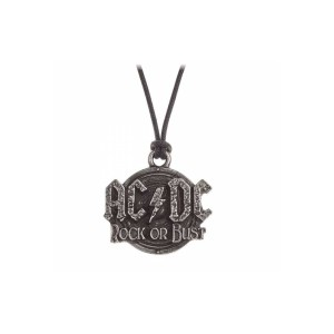 Rock Or Bust Pendant – Wax Cord
