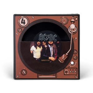 AC/DC Record Coaster Set