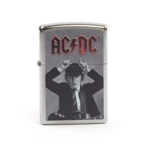 AC/DC Angus Devil Horns Zippo Lighter