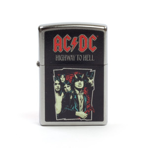 AC/DC Highway to Hell Band Cartoon Photo Zippo Lighter