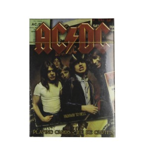 AC/DC Album Covers Playing Cards