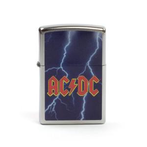 AC/DC Lightning Bolt Night Sky Zippo Lighter