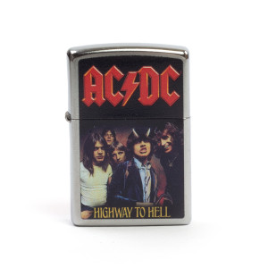 AC/DC Highway to Hell Band Photo Zippo Lighter