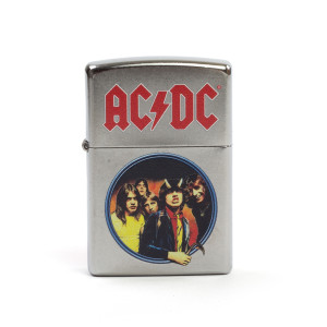 AC/DC Highway To Hell Circle Photo Zippo Lighter