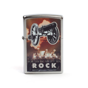 AC/DC For Those About To Rock Tour Zippo Lighter