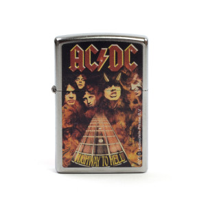AC/DC Highway To Hell Fretboad Band Photo Zippo Lighter