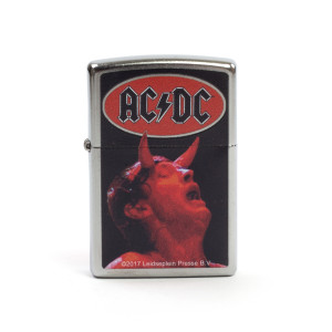 AC/DC Red Devil Zippo Lighter