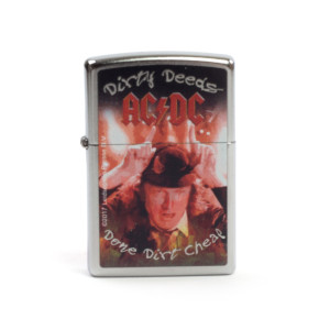 AC/DC Dirty Deeds Zippo Lighter