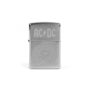 AC/DC Silver Zippo Lighter