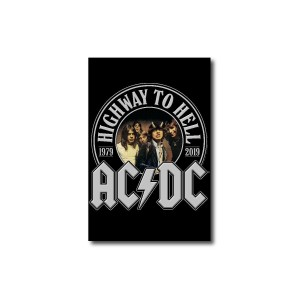 Highway To Hell 40th Anniversary Rectangular Magnet