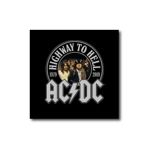 Highway To Hell 40th Anniversary Square Magnet