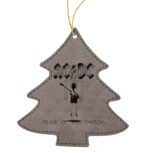 Flick Of The Switch Leatherette Tree Ornament