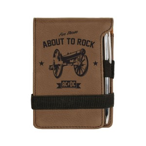 Rock Cannon Mini Notepad w/Pen