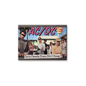AC/DC Dirty Deeds Done Dirt Cheap Magnet