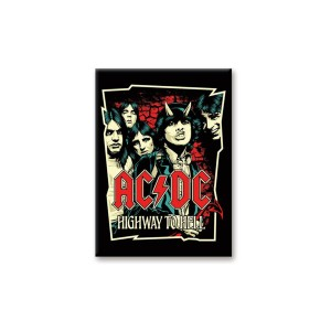 AC/DC Highway to Hell Art Magnet