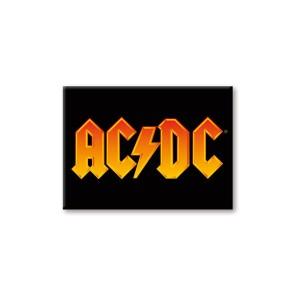AC/DC Orange Logo Magnet