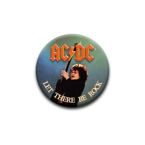 AC/DC Let There Be Rock Pin