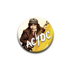 AC/DC High Voltage Album Pin