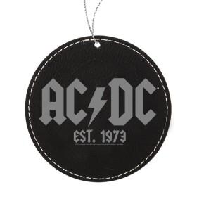 Est. 1973 Leatherette Ornament