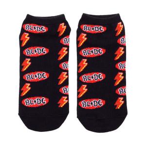 AC/DC Oval Logo Ankle Socks