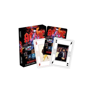 AC/DC In Rock We Trust Playing Cards