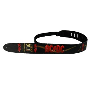 Leather Highway To Hell Devil Tail Guitar Strap