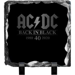 Back in Black 40th Anniversary Photo Slate