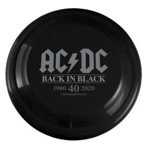AC/DC Back in Black 40th Anniversary Frisbee