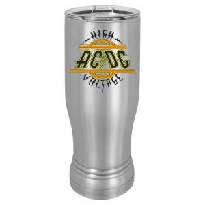 High Voltage Logo Polar Camel Pilsner Travel Mug