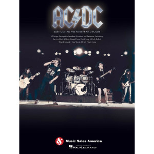 AC/DC Easy Guitar with Riffs and Solos