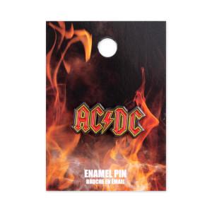 ACDC Red Logo Pin