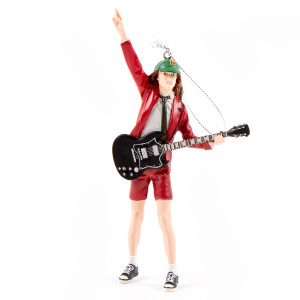 AC/DC Angus Holiday Ornament