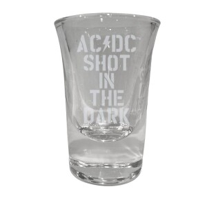 Shot In The Dark Laser Engraved Shot Glass