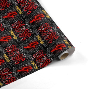 AC/DC Wires n' Bolts Wrapping Paper