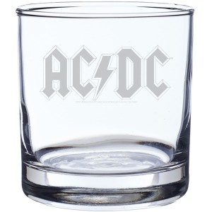 Diamond Logo Laser-Etched Whiskey Glass