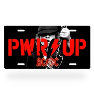 AC/DC Angus Young License Plate