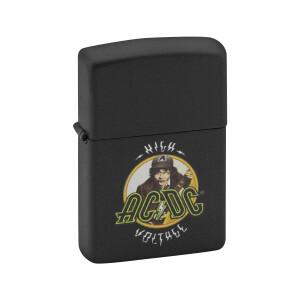 AC/DC Angus Guitar High Voltage Zippo Lighter