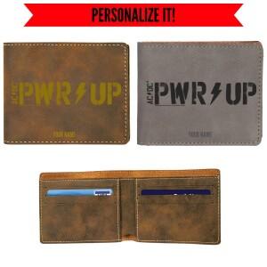 Power Up Vegan Leather Wallet