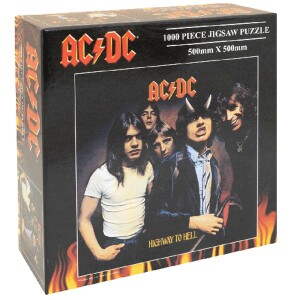 AC/DC 1000 piece Highway to Hell Album Cover Jigsaw Puzzle